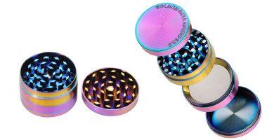 grinder metálico 4 partes